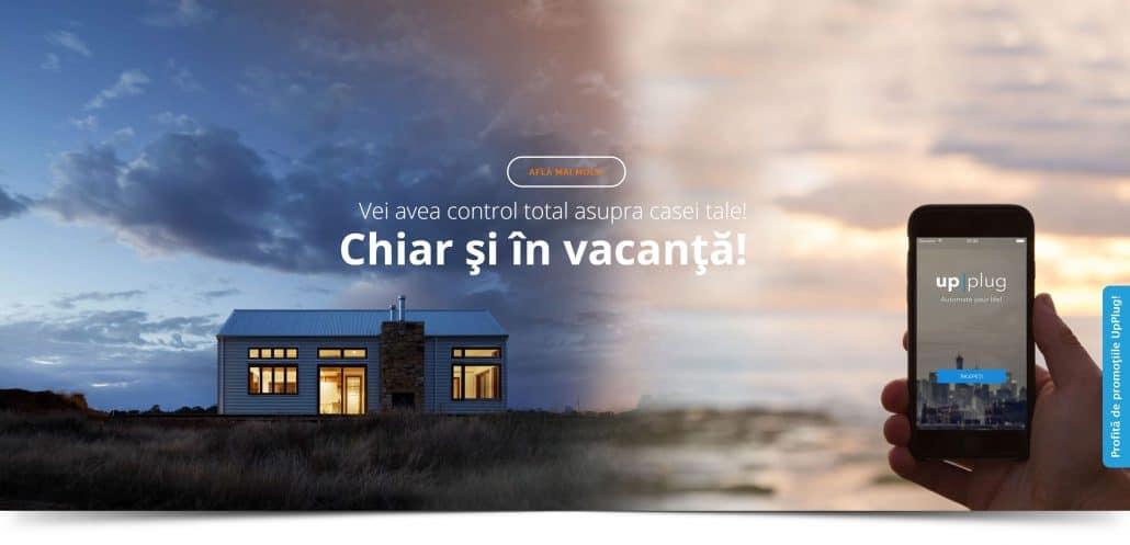 UpPlug creare site web
