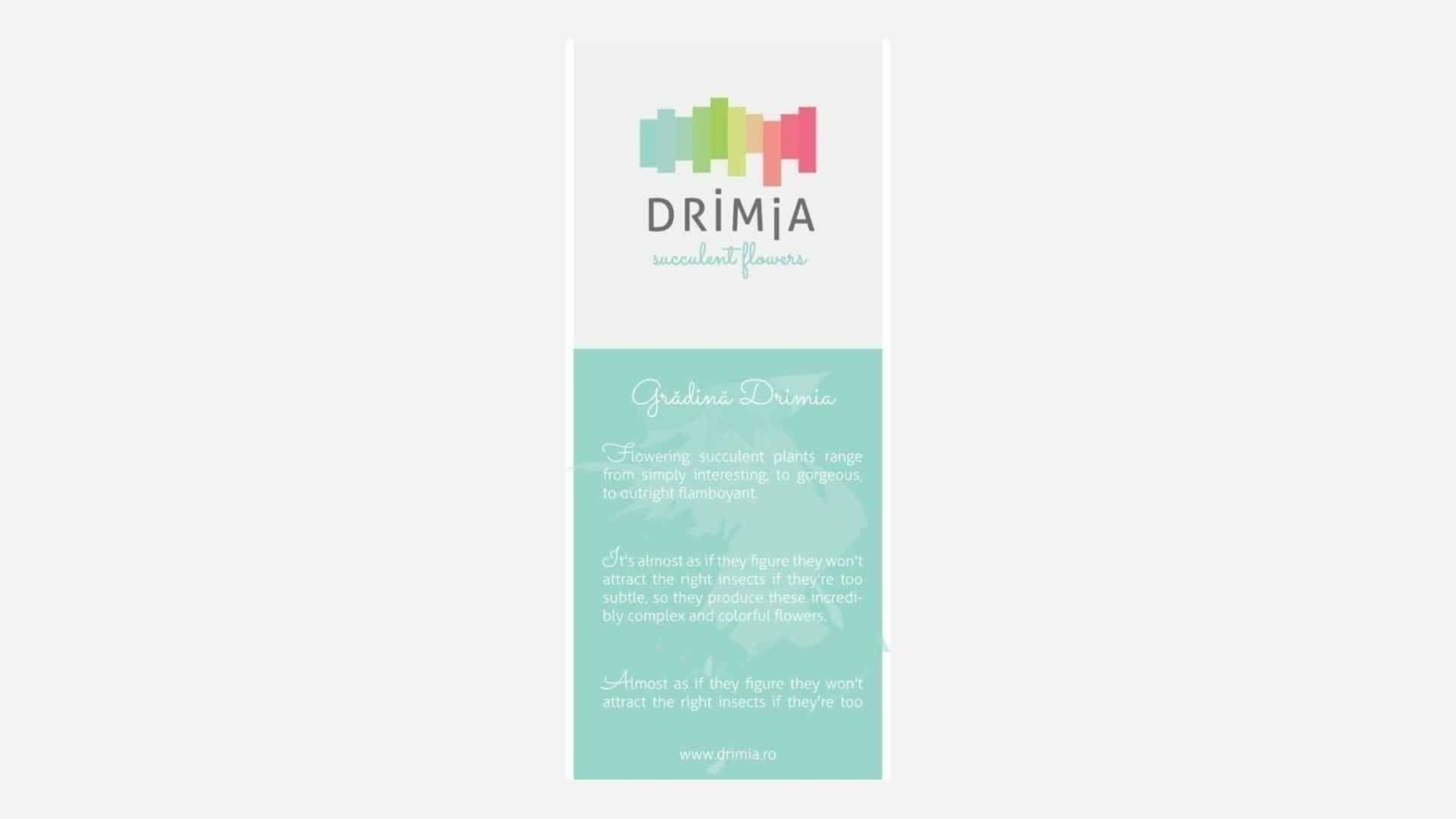 Drimia, brand identity