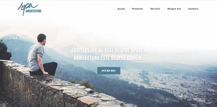 SPA creare site web
