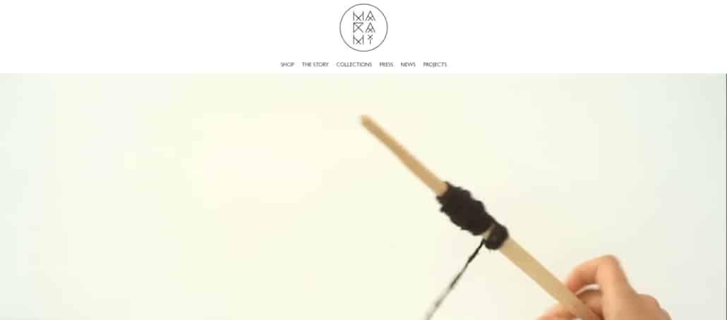 MaRaMi website, creare site web