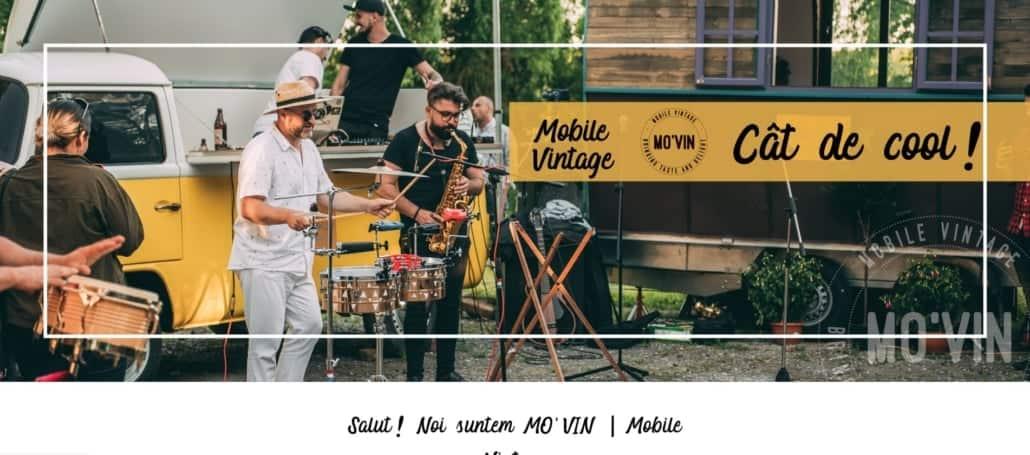 Mo'Vin website, creare site web